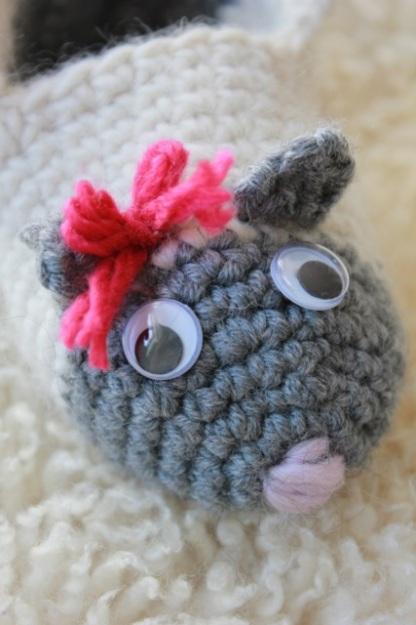 En söt liten toffelmus