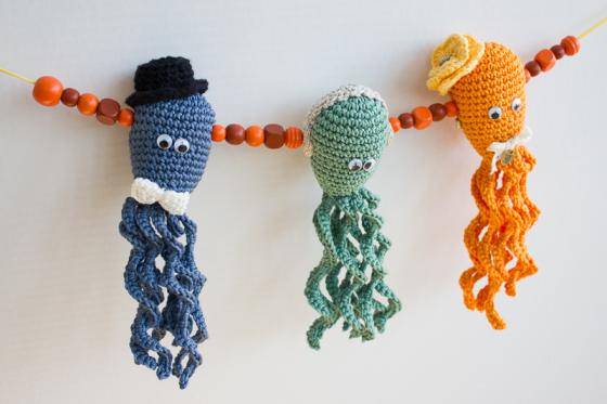 Hela familjen bläckfisk